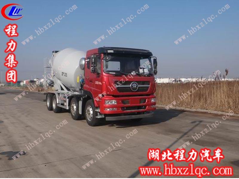 重汽斯太尔混凝土搅拌运输车(国五)