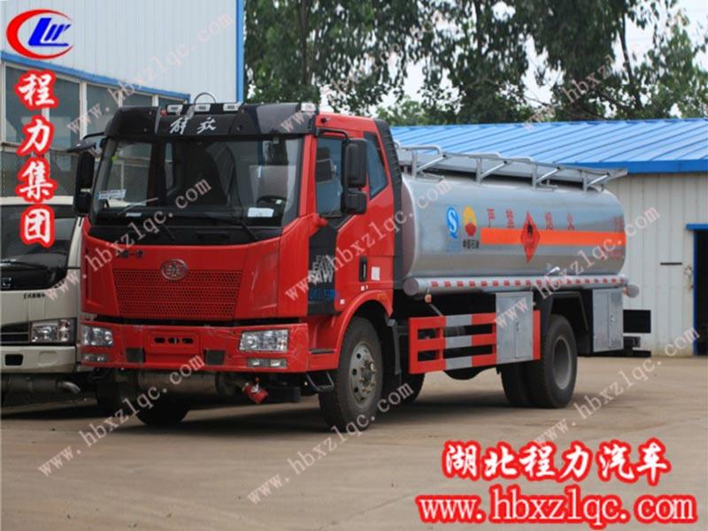 解放J6(15方)运油车(国五)