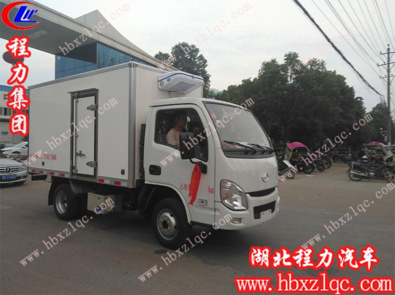2019/09/04 湖南刘总在湖北亚博体育app官方集团订购一台国六跃进冷藏车,单号12654
