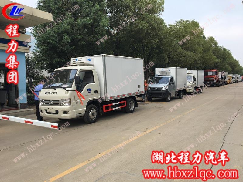 2019/10/08 西昌凉山高总在湖北亚博体育app官方集团订购了三台蓝牌冷藏车,单号80107/80109