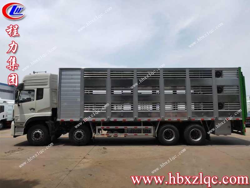 湖北亚博体育app官方集团东风天龙前四后八铝合金运猪车——二师兄的移动房车